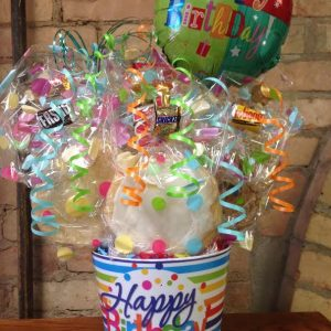 Happy Birthday Polka Dot Melamine Cookie Bouquet