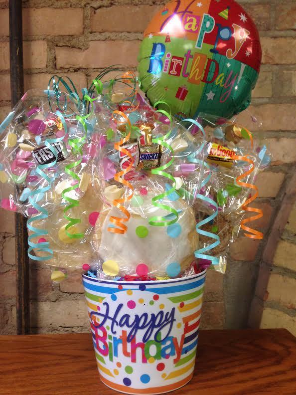 Happy Birthday Polka Dot Melamine Cookie Bouquet