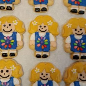 Girl Decorated Cookies