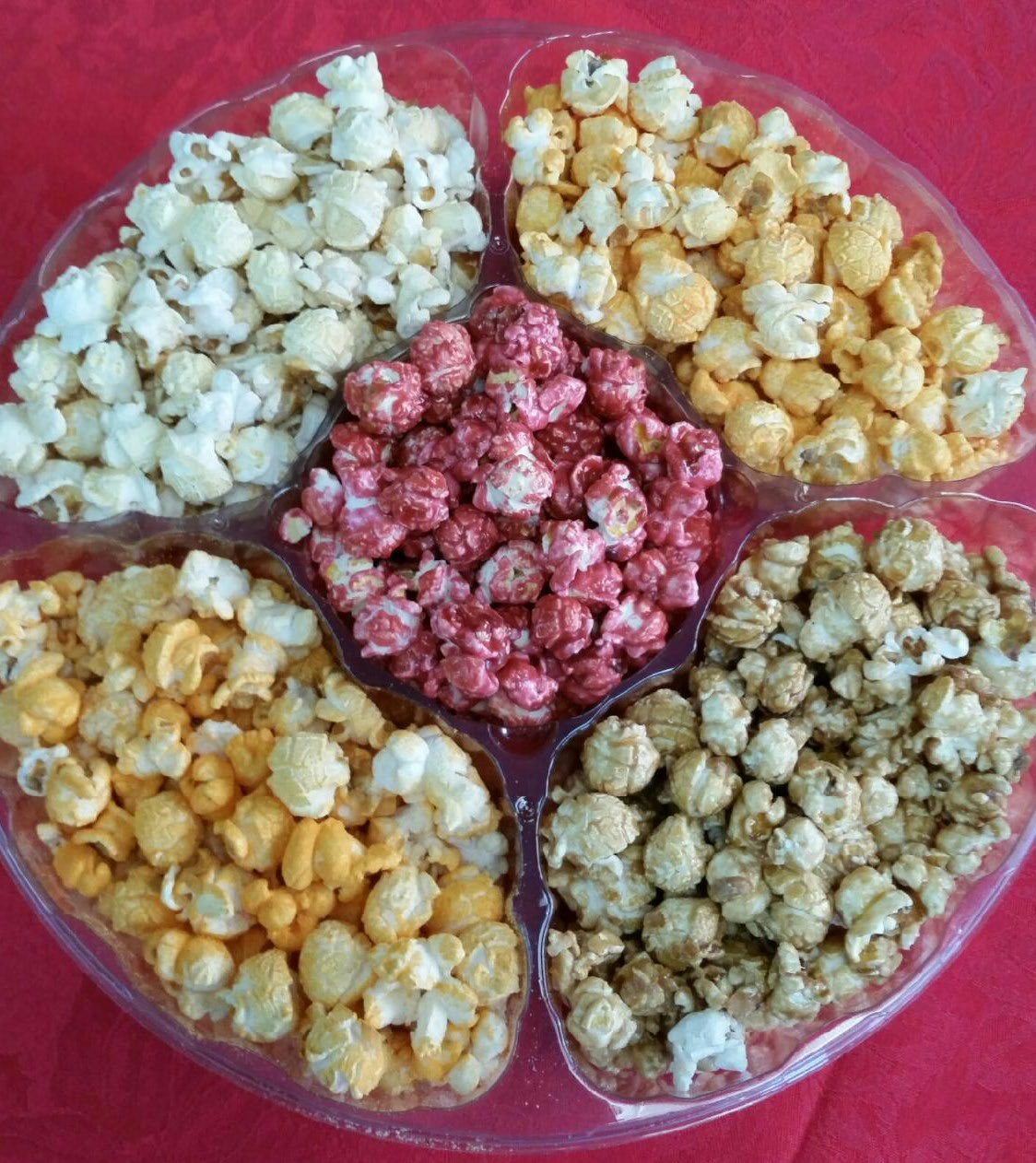 Assorted Popcorn Tray
