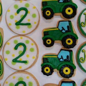 Assorted Tractor Cookies