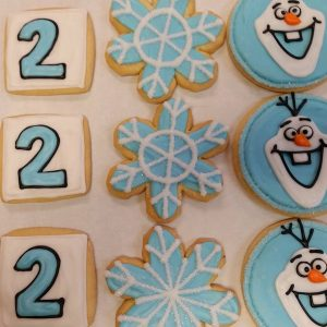 Assorted Snowman Cookies
