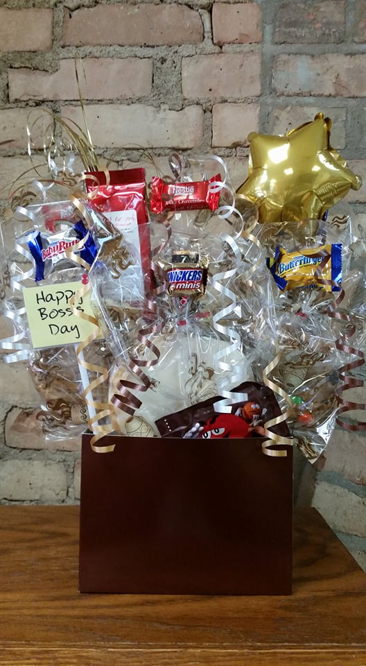 Boss's Day Coffee Lover's Cookie Bouquet