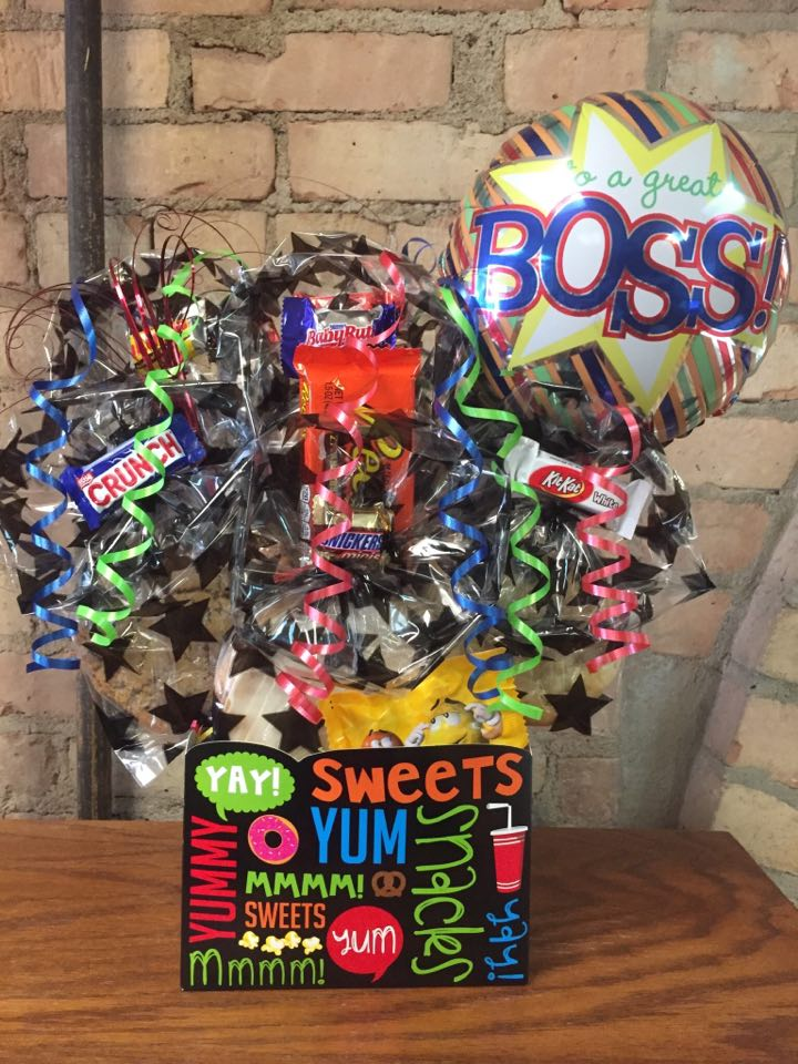 Boss's Day Yum Box Cookie Bouquet