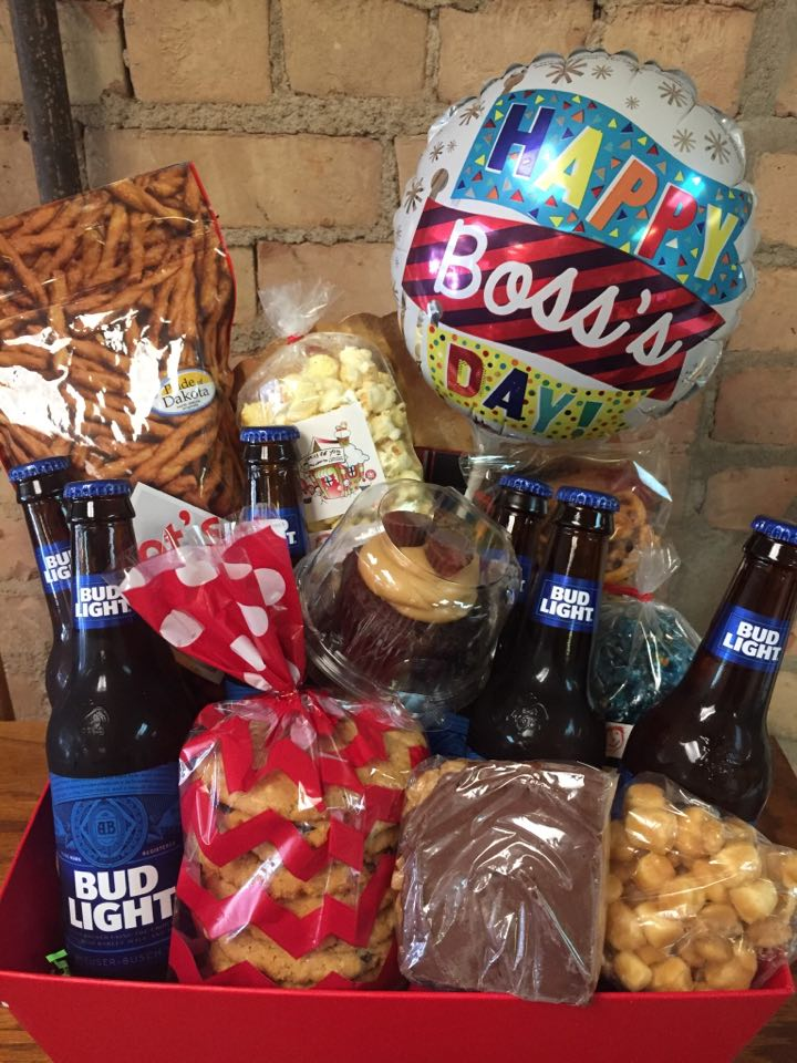 Boss's Day Beer Basket