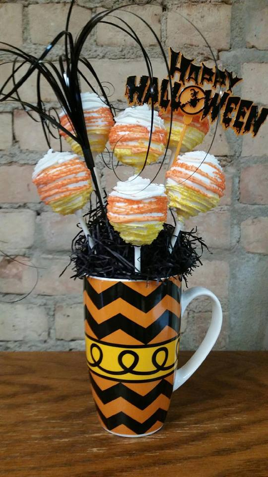 Halloween Cakepop Bouquet