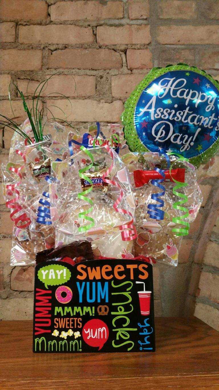 Assistant's Day Yum Box Cookie Bouquet