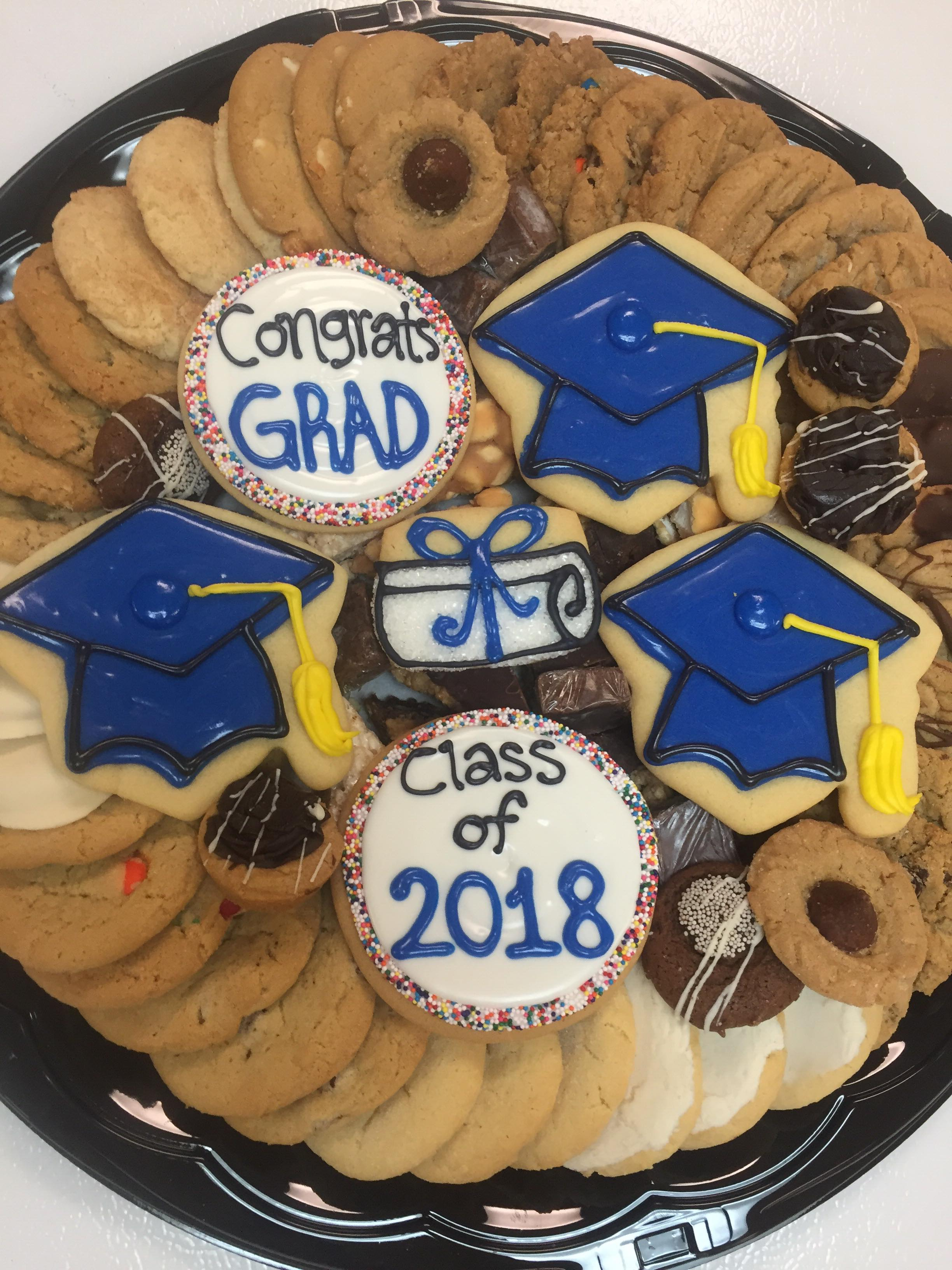 Graduation Sweets Tray
