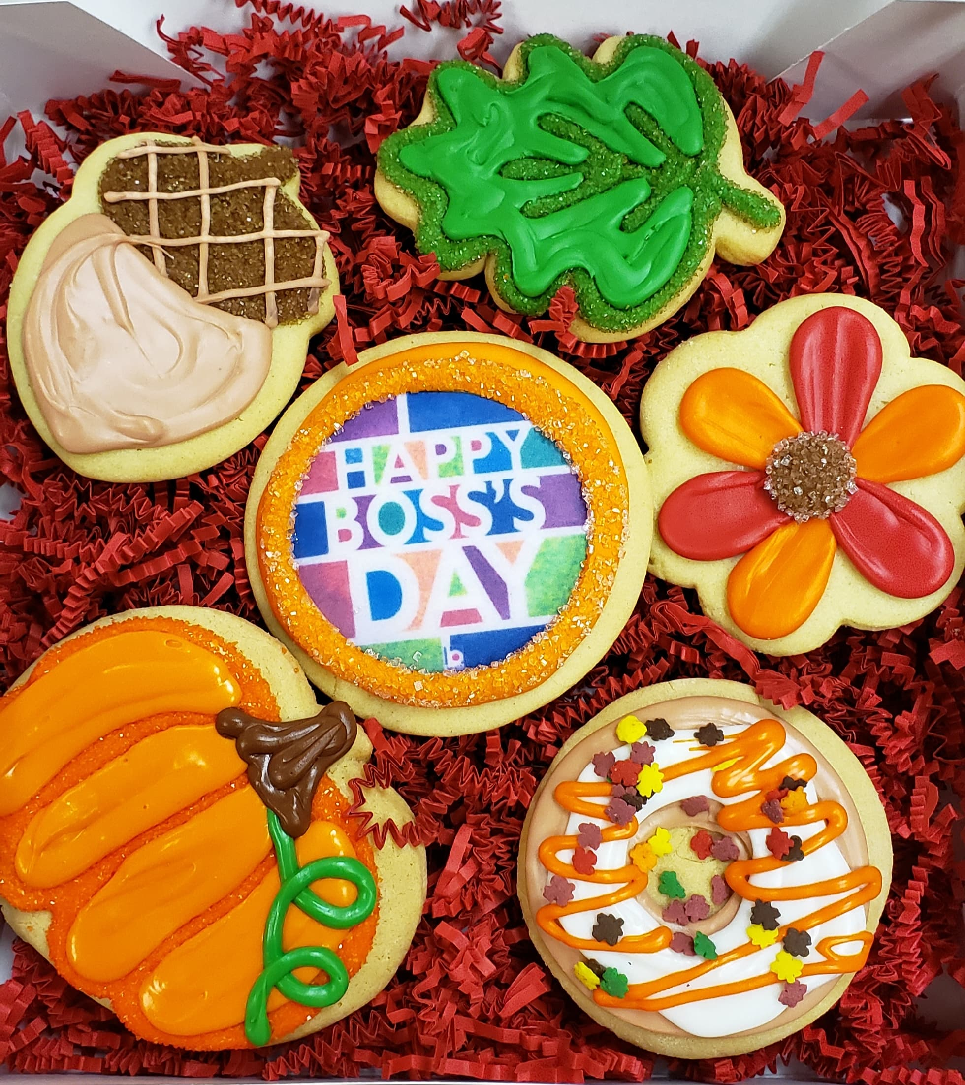 6 Boss's Day Cookie Assortment