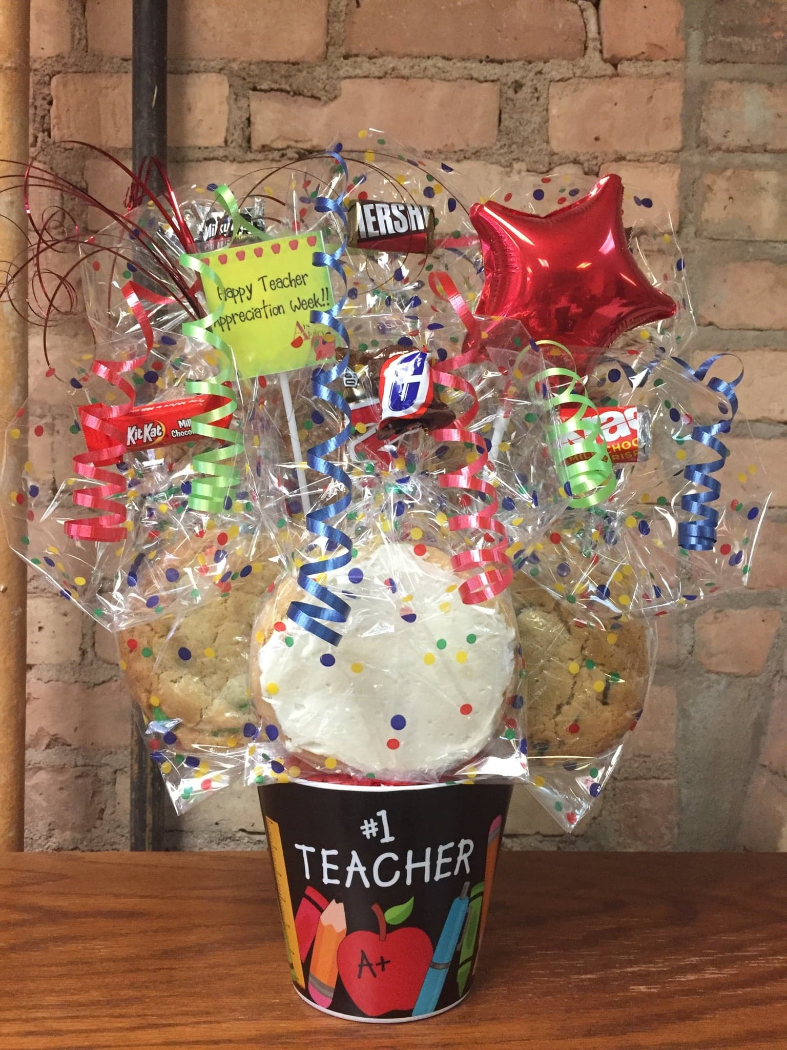 Teacher's Appreciation Melamine Cookie Bouquet