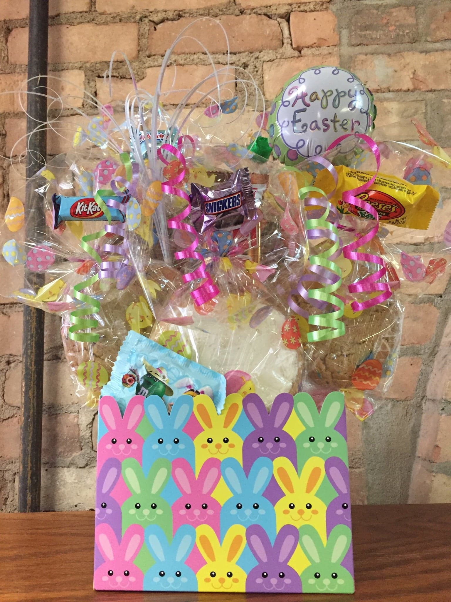 Bunny Box Easter Cookie Bouquet