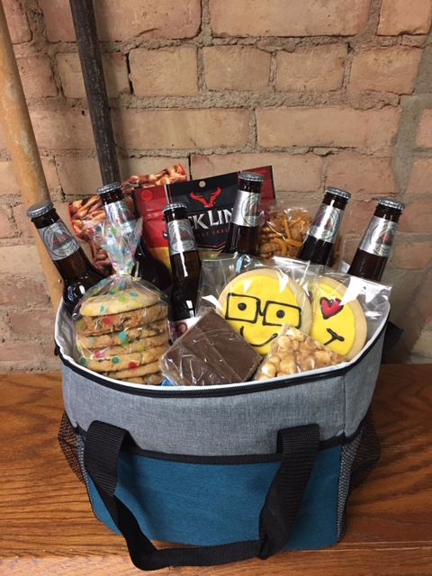 Soft Side Cooler Beer or Pop Basket