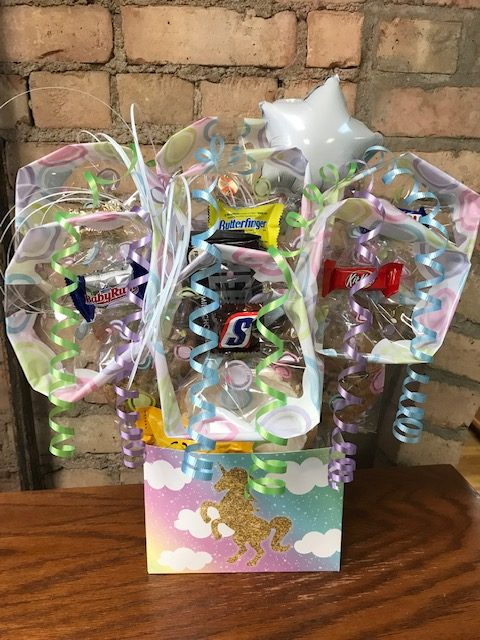Unicorn Cookie Bouquet