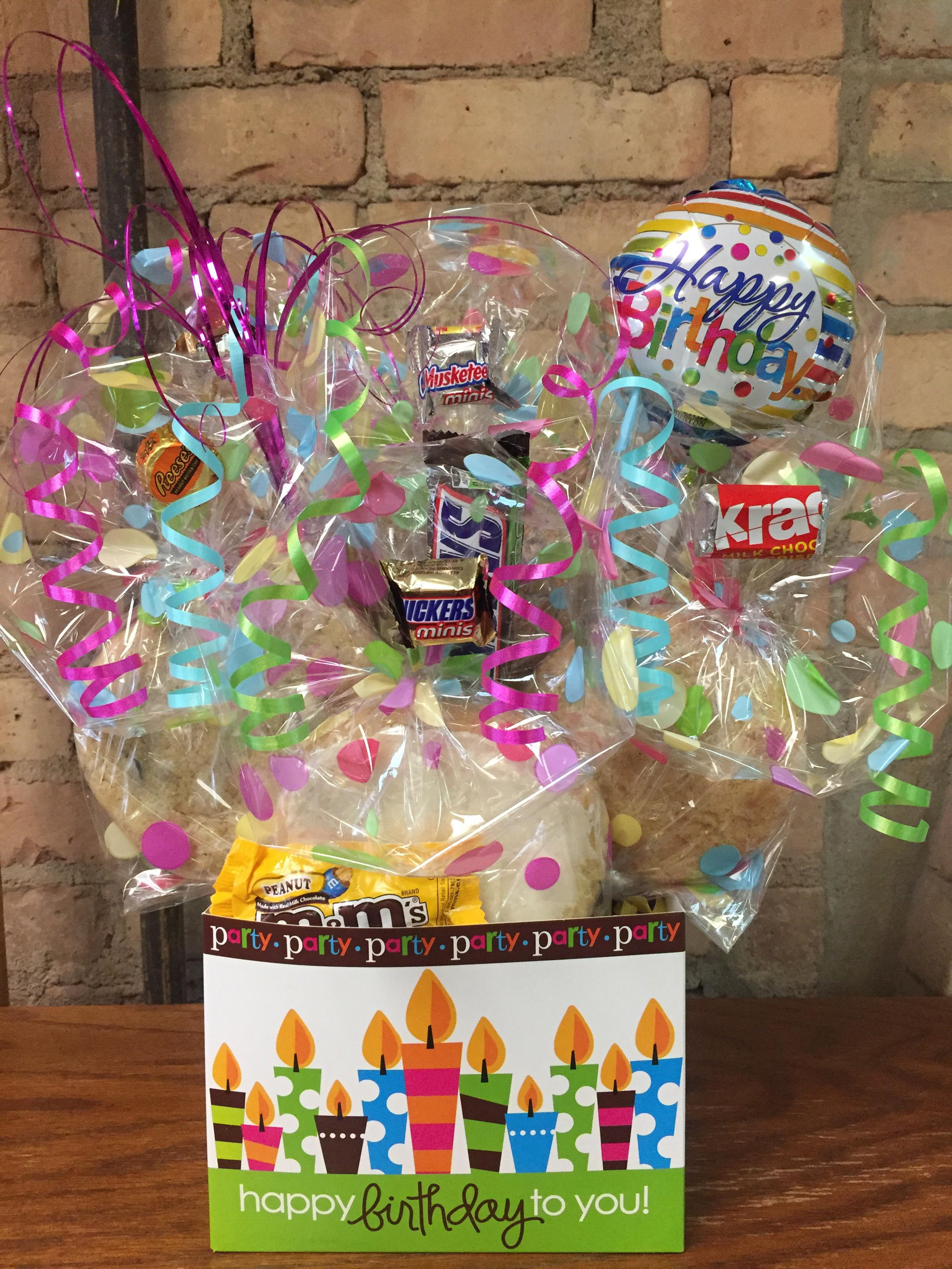 Happy Birthday Lime Box Cookie Bouquet