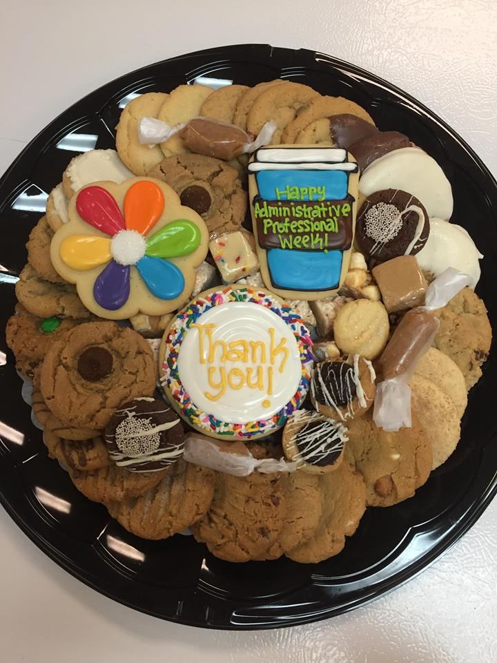 Administrative Professionals Week Sweets Tray | Cookies ...
