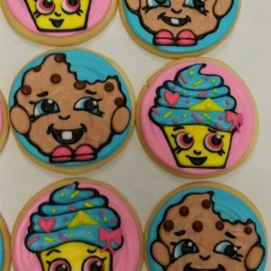 """Smiley Face Shop"" Cookies"
