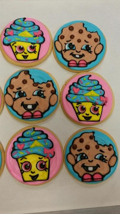 """Smiley Face Shop"" Cookies"