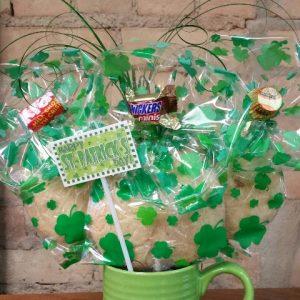 Green St. Patrick's Day Mug Bouquet