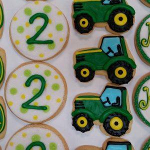 Assorted Tractor Cookies