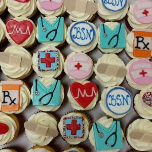 Assorted NurseDoctor Cupcakes