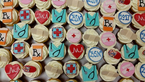 Assorted NurseDoctor Cupcakes