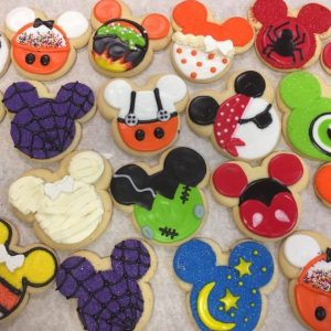 Halloween Mickey Mouse Decorated Cookies