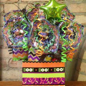 Boo Eyeball Diecut Box Cookie Bouquet
