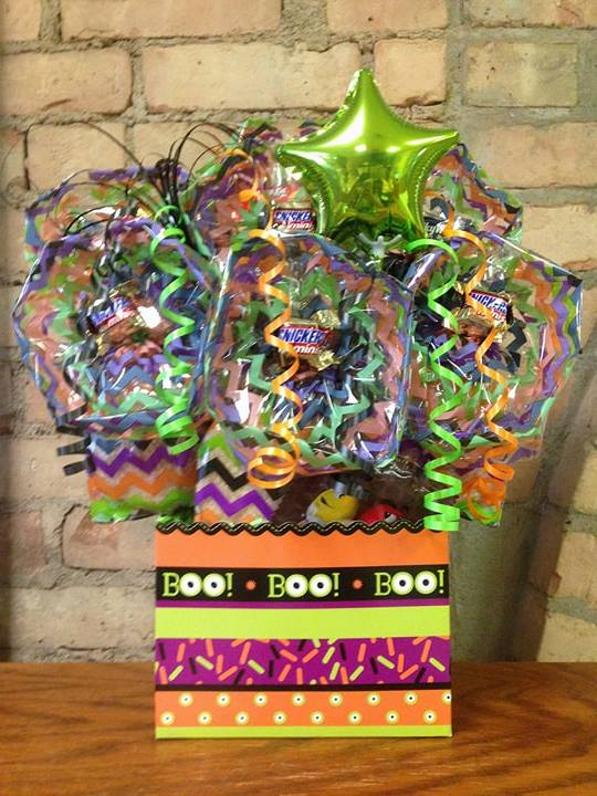 Boo Eyeball Diecut Box Cookie Bouquet