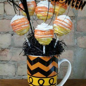 Halloween Cakepop Bouquet