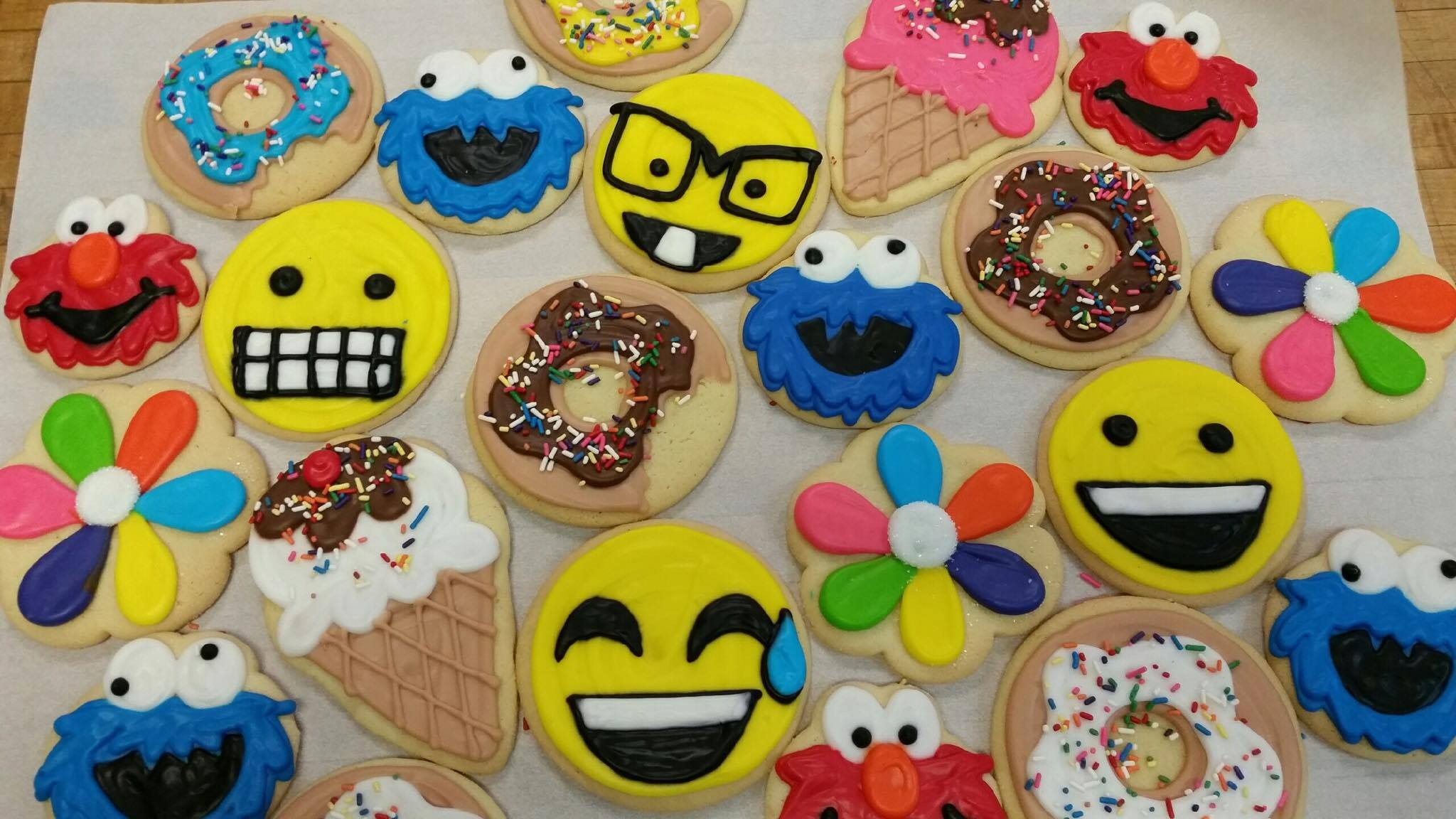 Assorted Decorated Cookies