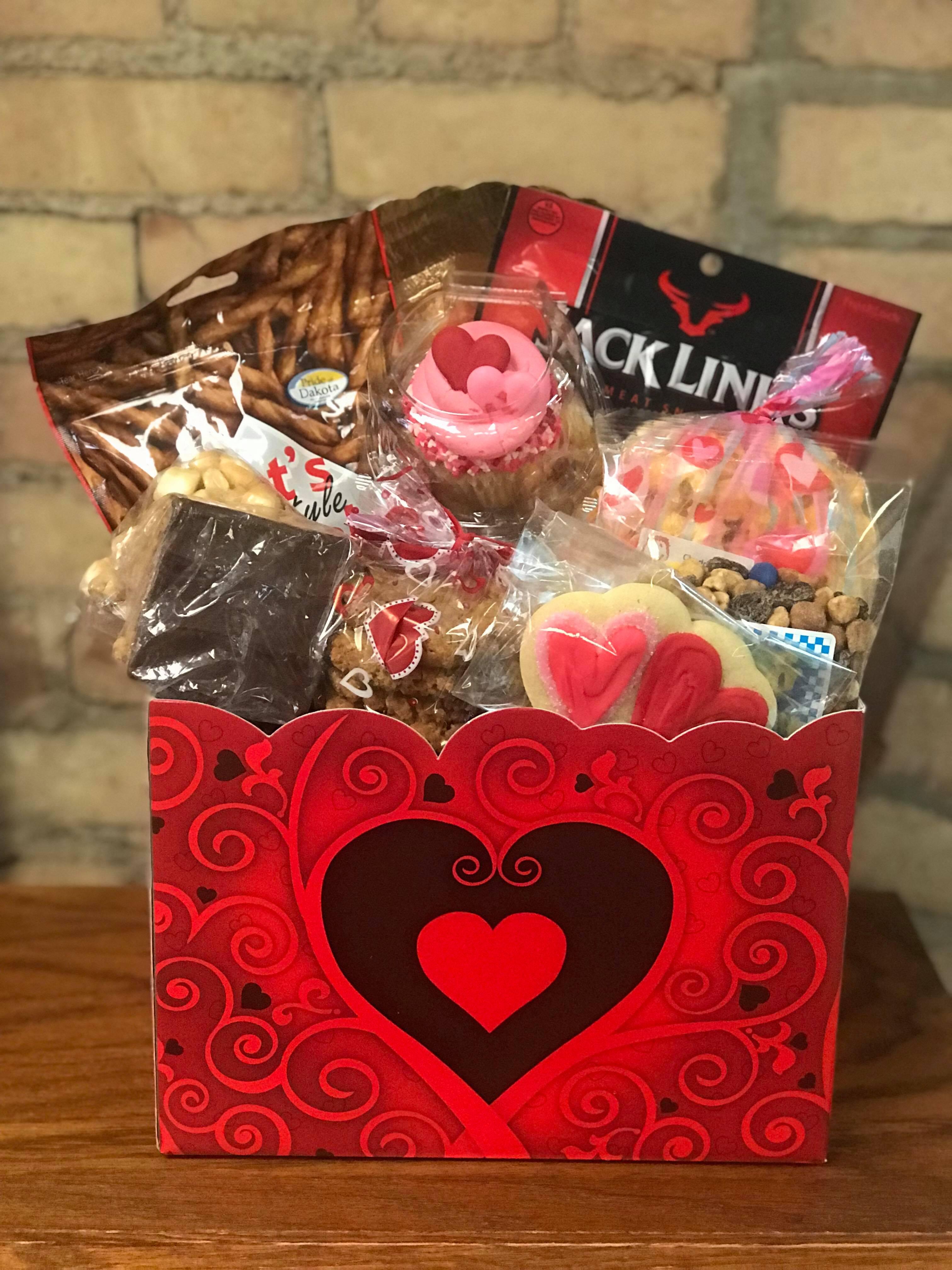 Valentine's Day Sweet n Salty Basket