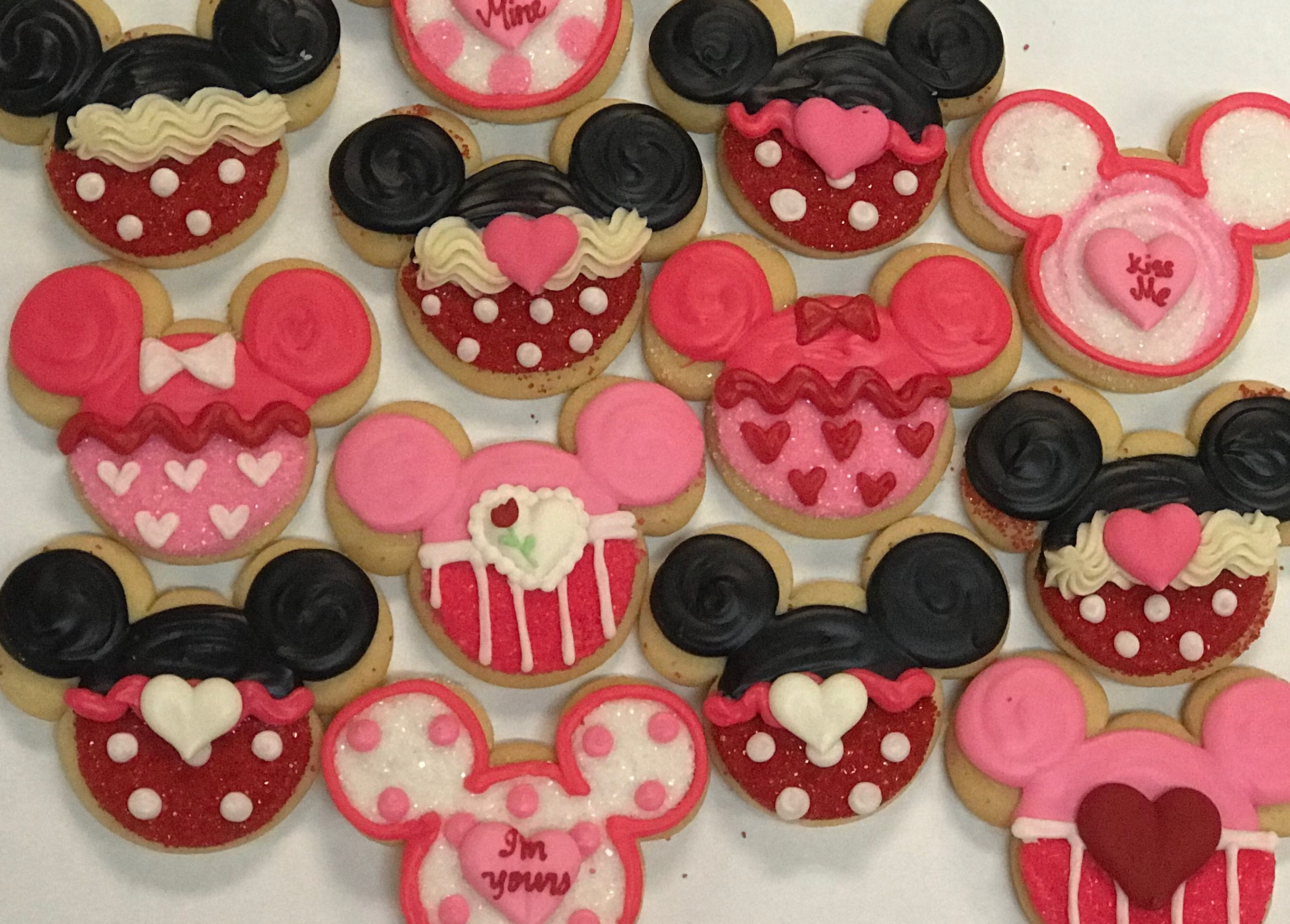 Assorted Valentine's Day Mickey Ears