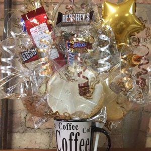 Coffee Lover's Mug Cookie Bouquet