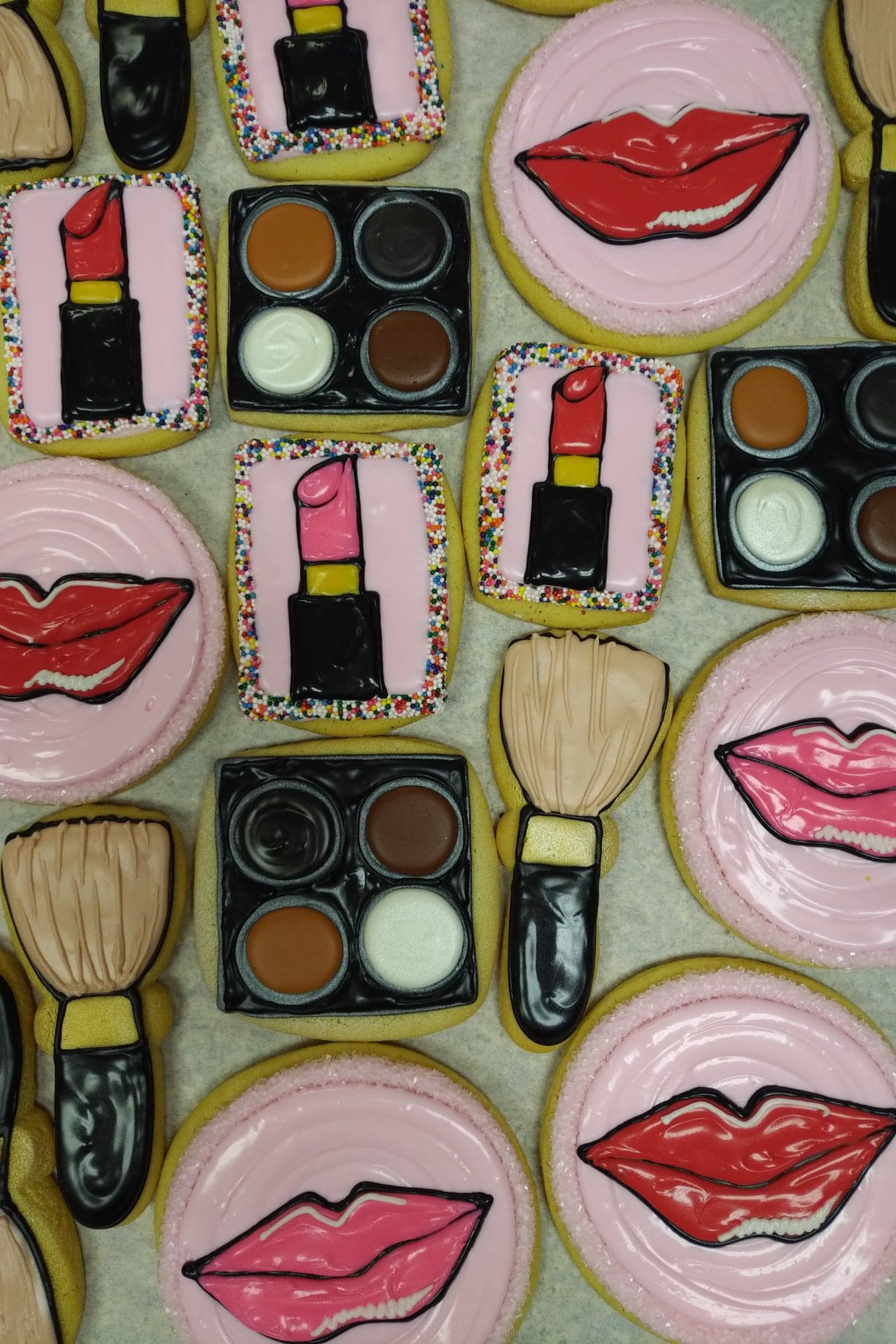Make-up Cookies