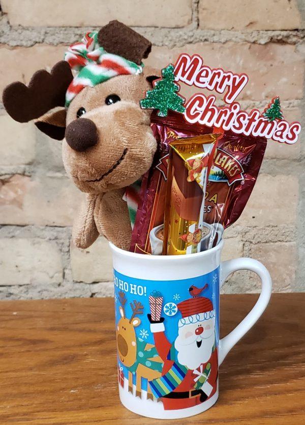 Stuffed Animal, Hot Chocolate, Candy, and Mug