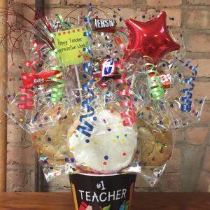 Teacher's Appreciation Melamine Cookie Bouquet
