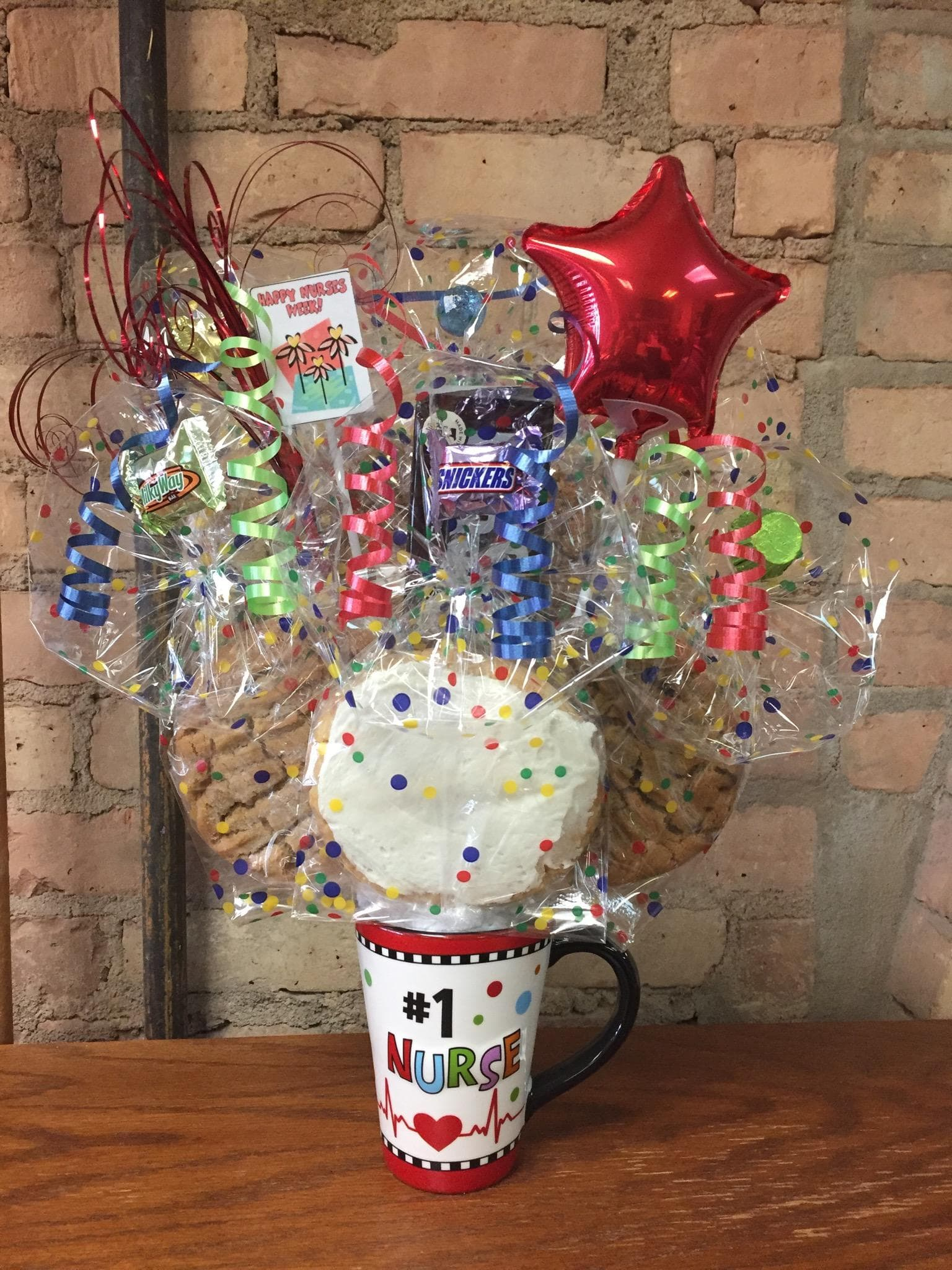 #1 Nurse Mug Cookie Bouquet