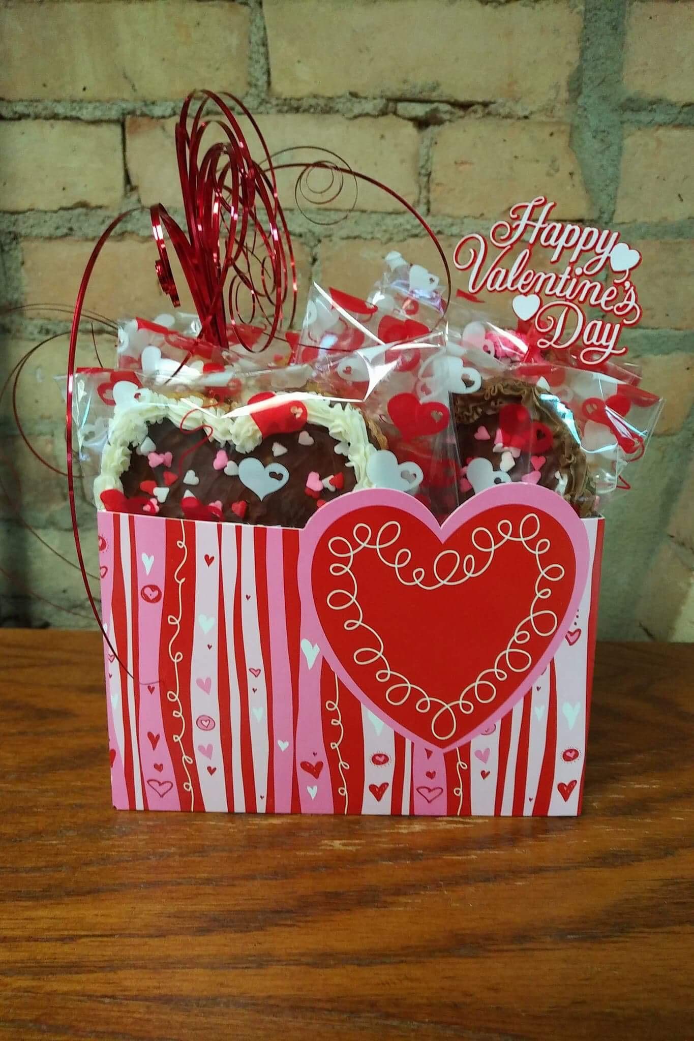 Valentine Sprinkled Scotcharoo Bars