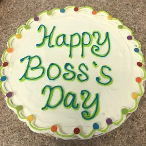 Boss's Day Cookie Pizza