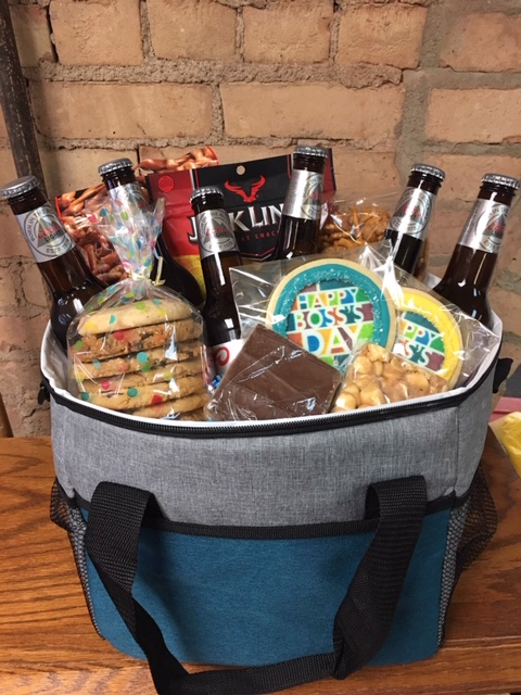 Boss's Day Beer Basket in a Cooler