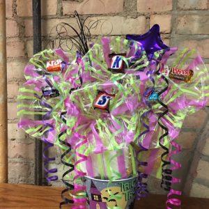Halloween Bucket Bouquet