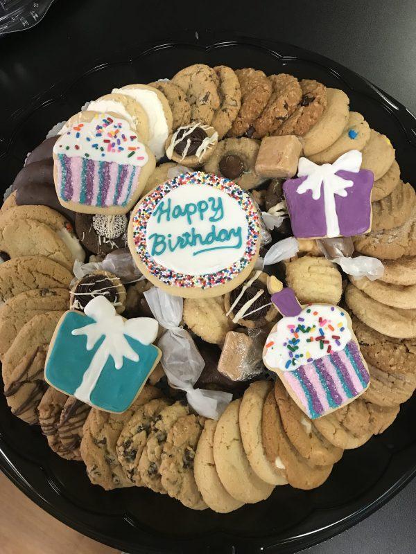 Happy Birthday Sweets Tray
