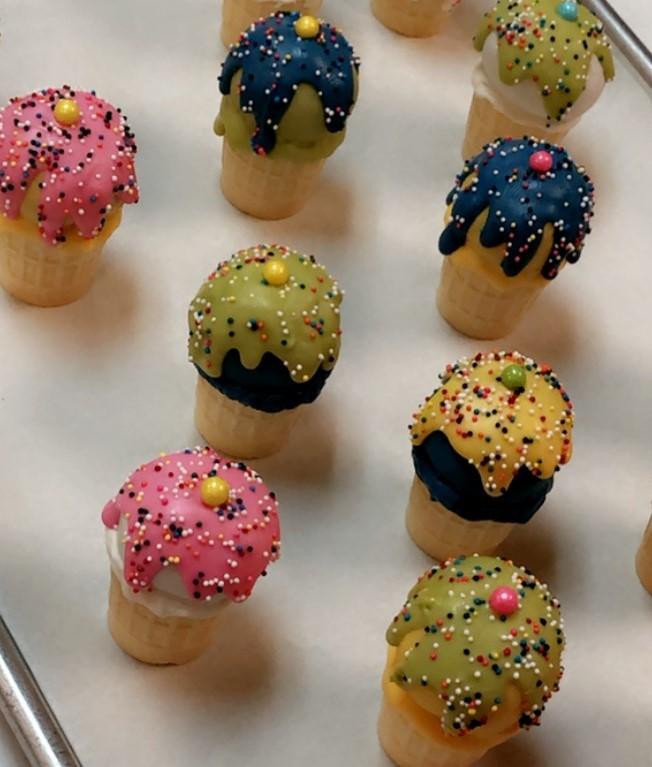 Ice Cream Cone Cake Pops