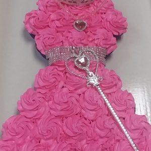 Princess Pull Apart Cupcake Cake