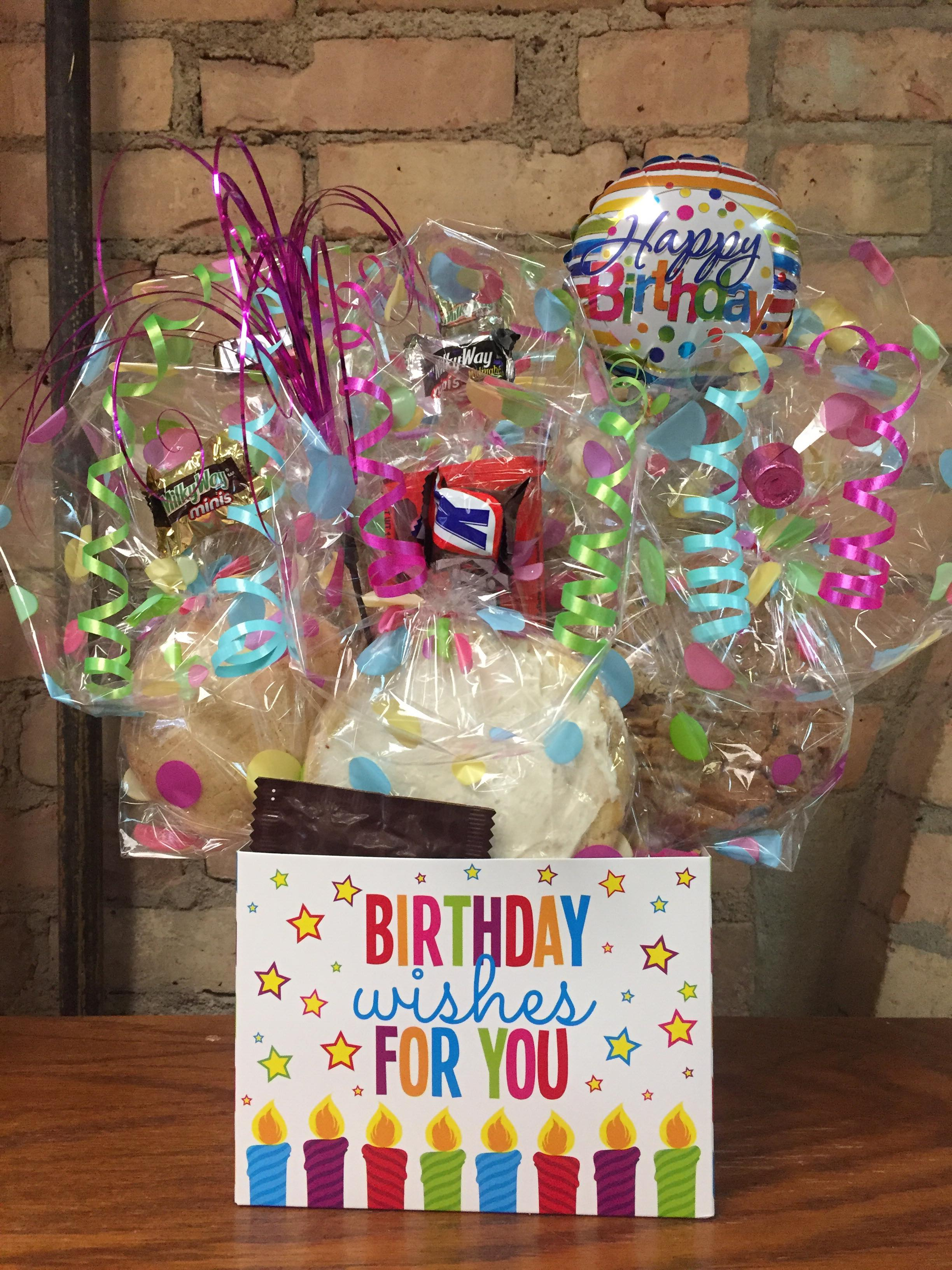 """""""Birthday Wishes to You"""" Cookie Bouquet"""