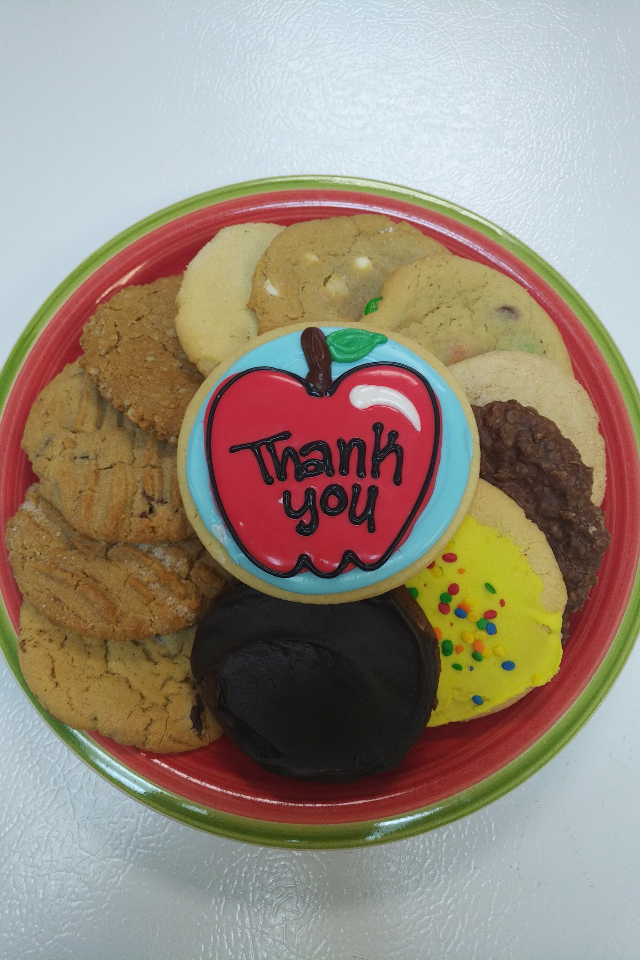 Assorted Cookie plate