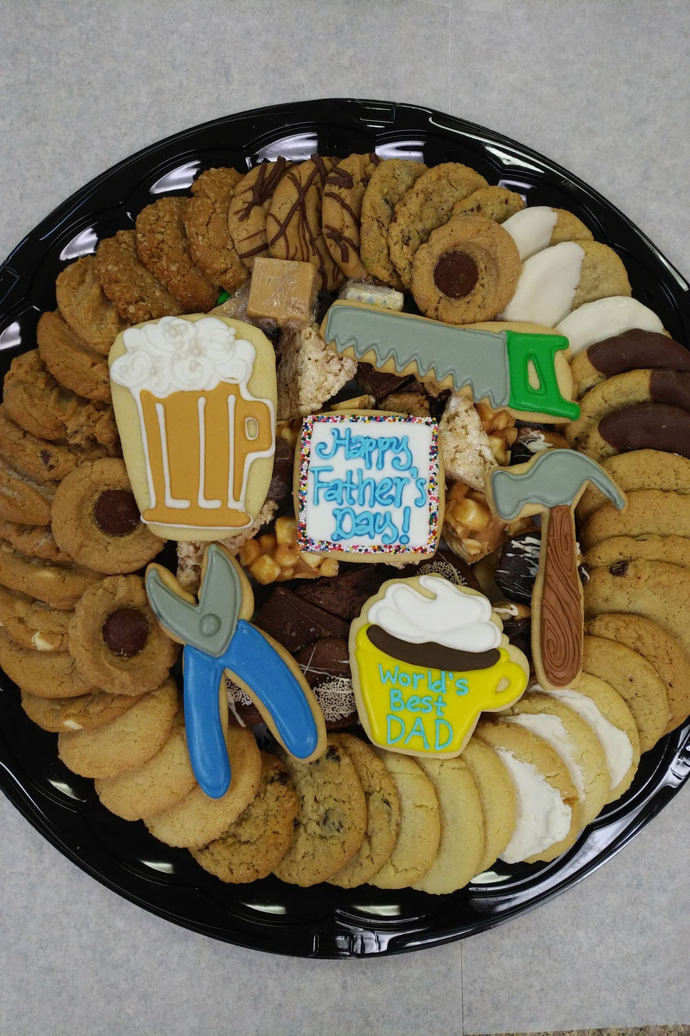 Father's Day Sweets Tray